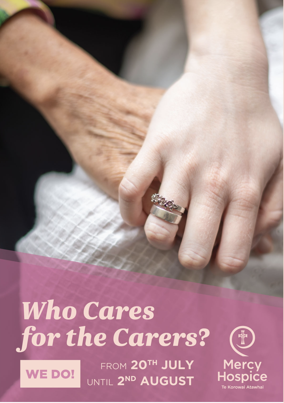 Who cares for the carers? WE DO!